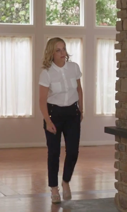 Amy Poehler with Manuel Ritz Casual Pants in Sisters