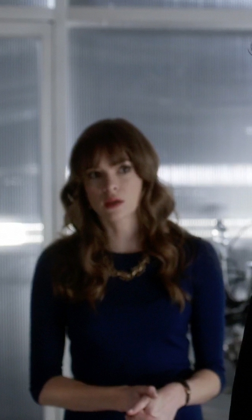Danielle Panabaker with Daniela Corte Second Skin Dress in The Flash