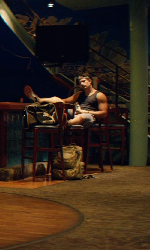 Joe Manganiello with Anthony Thomas Melillo Basic Tank Top in Magic Mike XXL