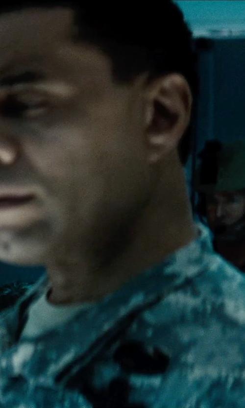 Harry Lennix with Tru-Spec Army Combat Uniform BDU Jacket in Man of Steel