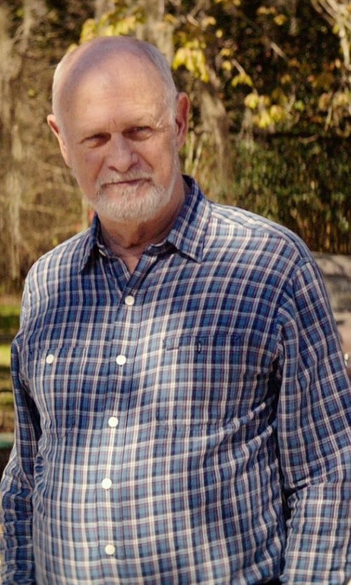 Gerald McRaney with Tuf Cooper by Panhandle Long Sleeve Button Down Shirt in The Best of Me