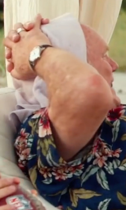 Terry Bradshaw with Shinola Runwell Watch in Bastards