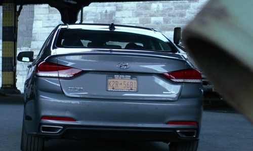 Rachael Taylor with Hyundai Genesis Sedan in Jessica Jones