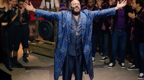 David Cross with Winter Silks Men's Washable Silk Charmeuse Pajama Set in Pitch Perfect 2