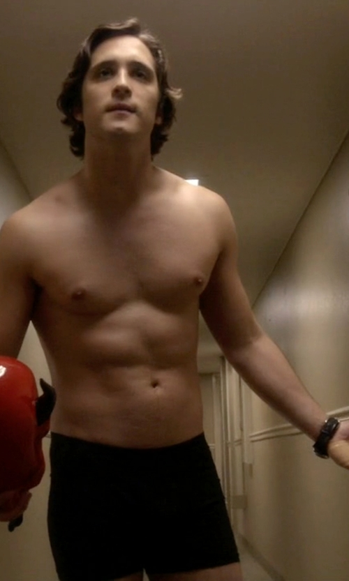 Diego Boneta with Derek Rose Lewis 1 Boxer Shorts in Scream Queens