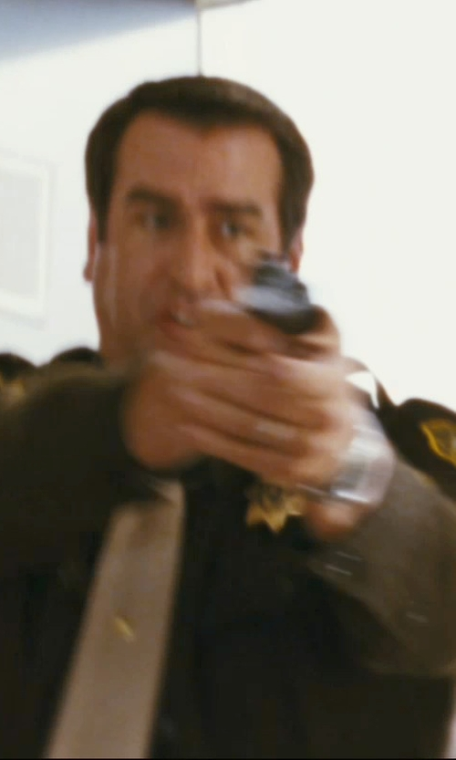 Rob Riggle with Nixon Time Teller Stainless Steel Watch in The Hangover