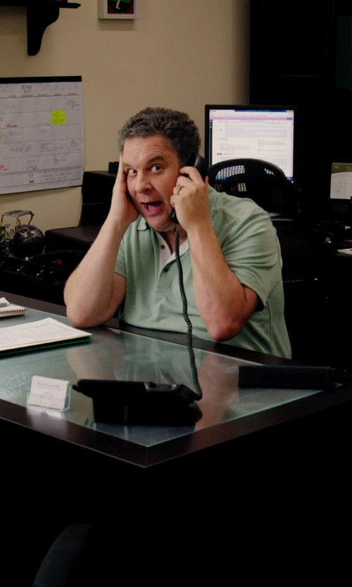 Jeff Garlin with Burberry Brit Classic Polo Shirt in Laggies