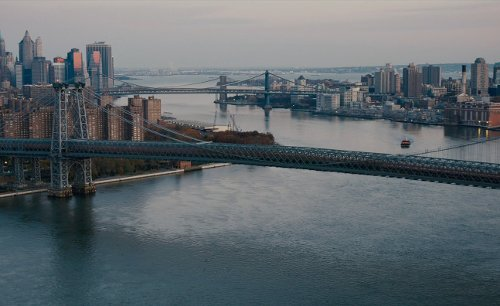 Williamsburg Bridge New York City, New York in The Dark Knight Rises