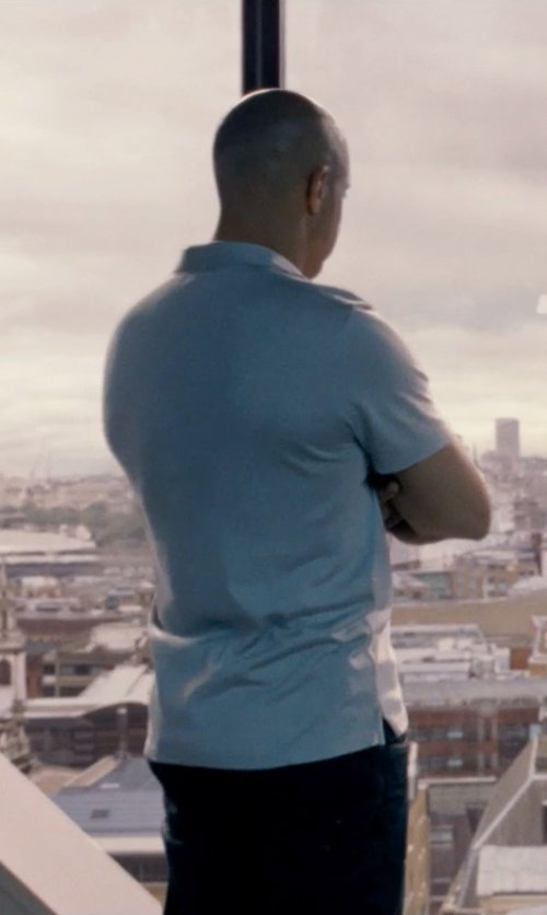 Vin Diesel with Red Seal Denim Pants in Fast & Furious 6