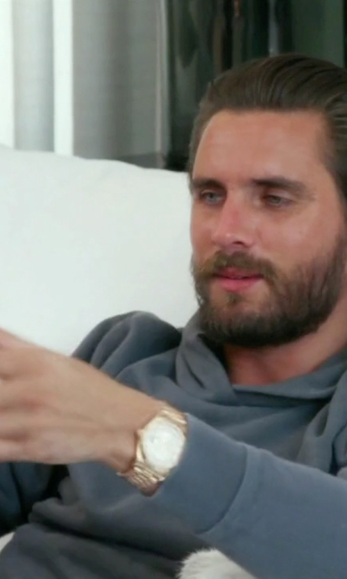 Scott Disick with Rolex Day-Date II 2 President Watch in Keeping Up With The Kardashians