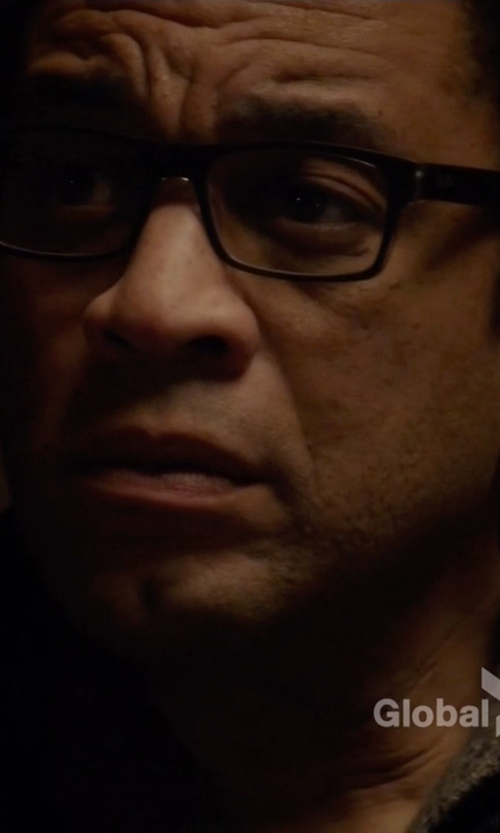 Harry Lennix with Ray-Ban RX5245 Clear Eyeglasses in The Blacklist