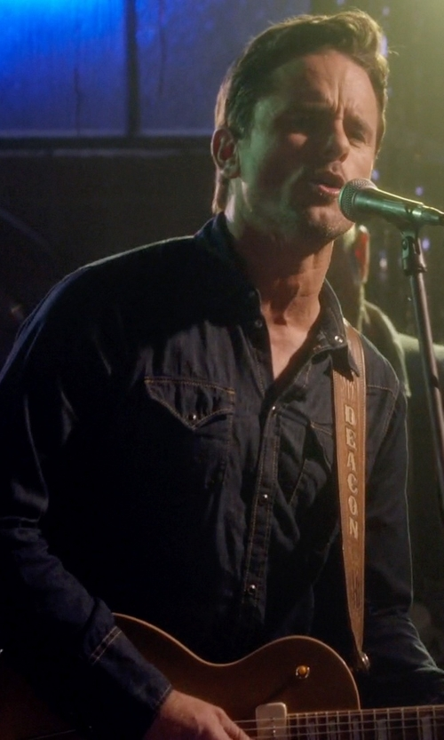 Charles Esten with Diesel Men's New Sonora Woven Shirt in Nashville