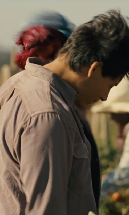 Carlos Pratts with Red Kap Men's Long Sleeve Work Shirt in McFarland, USA