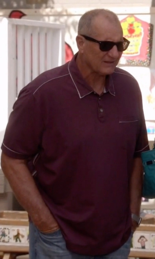 Ed O'Neill with Tommy Bahama New Fray Day Shirt in Modern Family