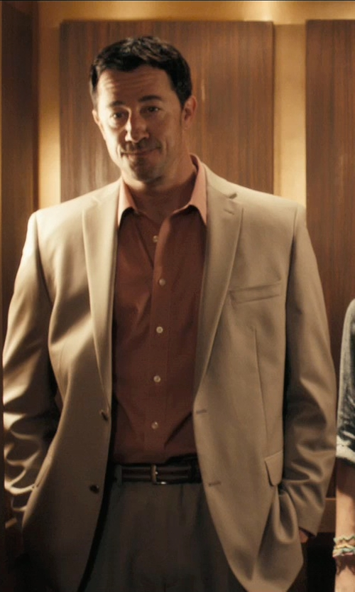 Jeff Wolfe with Bachrach Solid Lido Classic Fit Suit in Drive