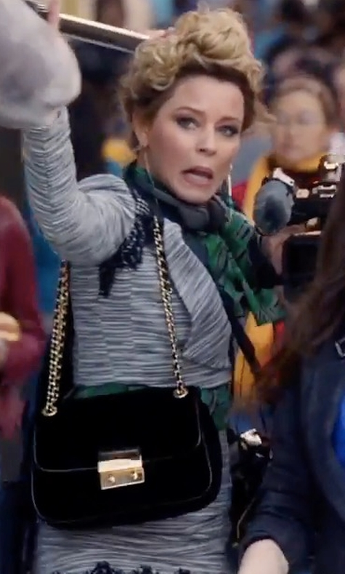 Elizabeth Banks with Antonio Melani (Altered) Patti Shawl Collar Lined Tweed & Lace Jacket in Pitch Perfect 3