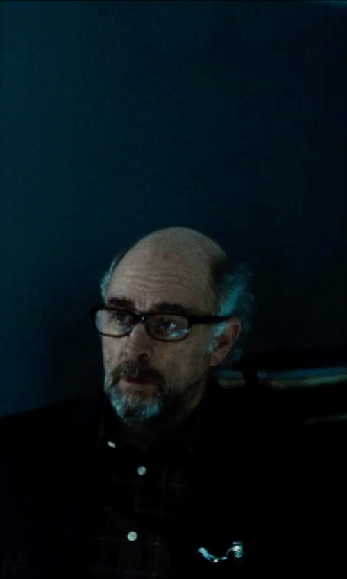 Richard Schiff with Theory Weller Suit Jacket in Man of Steel