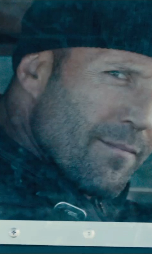 Jason Statham with Michael Kors Men's Field Jacket in Furious 7