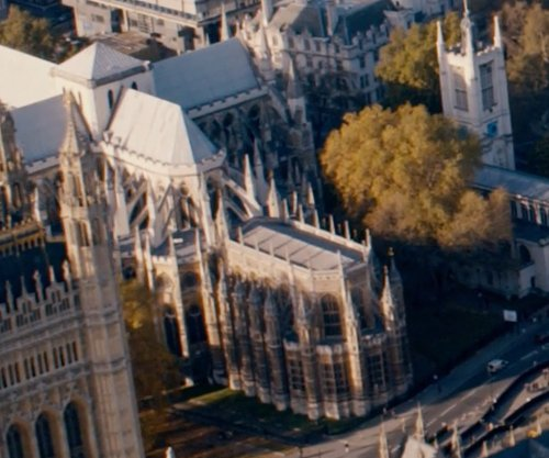 Unknown Actor with Westminster Abbey London, United Kingdom in Fast & Furious 6