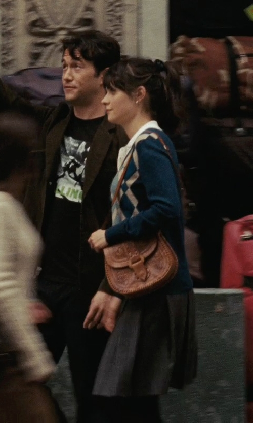 Zooey Deschanel with Foxcroft Women's Sleeveless Oxford Shirt in (500) Days of Summer