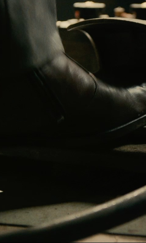 Armie Hammer with Givenchy Zipped Ankle Boots in The Man from U.N.C.L.E.