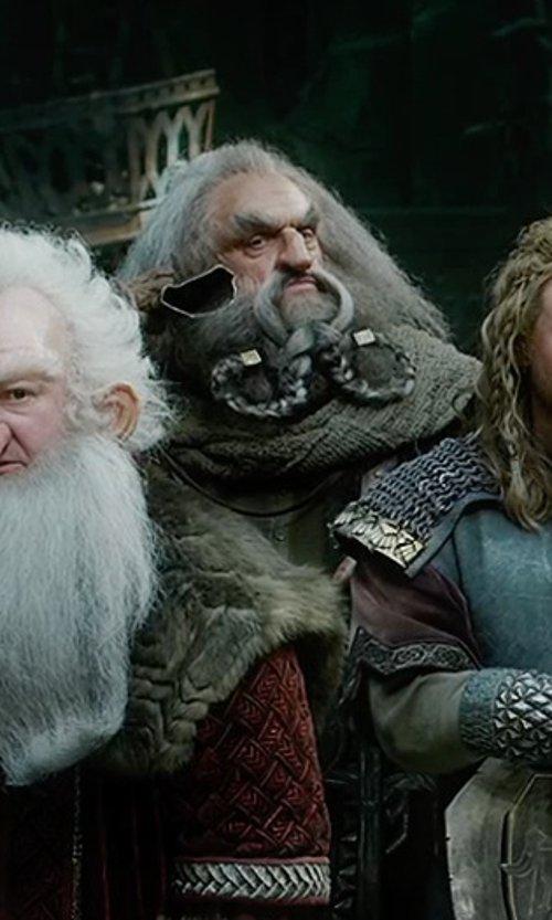John Callen with Ann Maskrey & Bob Buck (Costume Designer) Custom Made Oin's Costume in The Hobbit: The Battle of The Five Armies