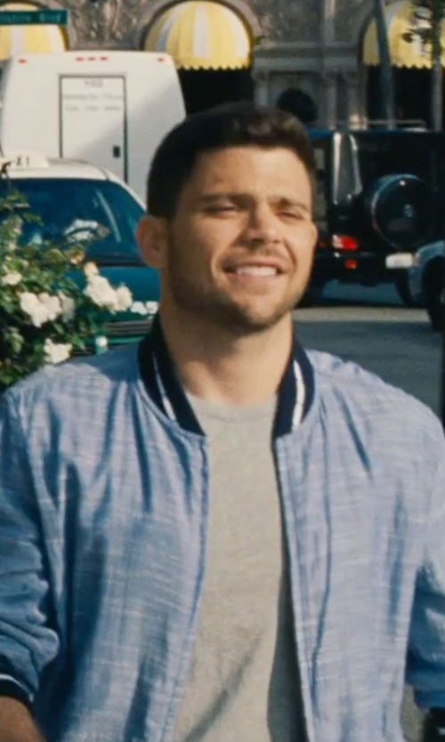Jerry Ferrara with James Perse Classic Crewneck T-Shirt in Entourage