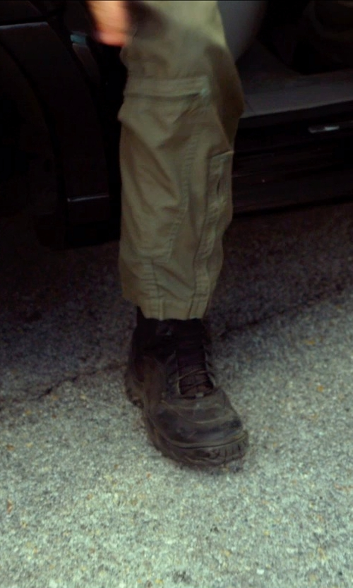 Harrison Ford with Wolverine 1000 Mile Montgomery Lace Up Boots in The Expendables 3