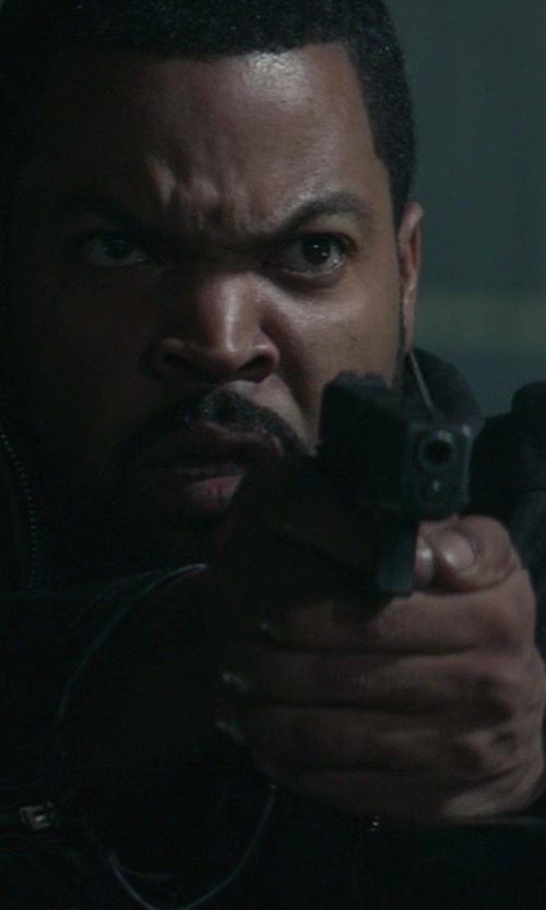 Ice Cube with Victorinox Swiss Army Alliance Men's Black Leather Watch in Ride Along