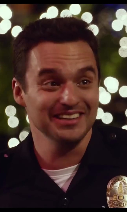 Jake Johnson with BLK DNM Classic Crew Neck T-Shirt 3 in Let's Be Cops