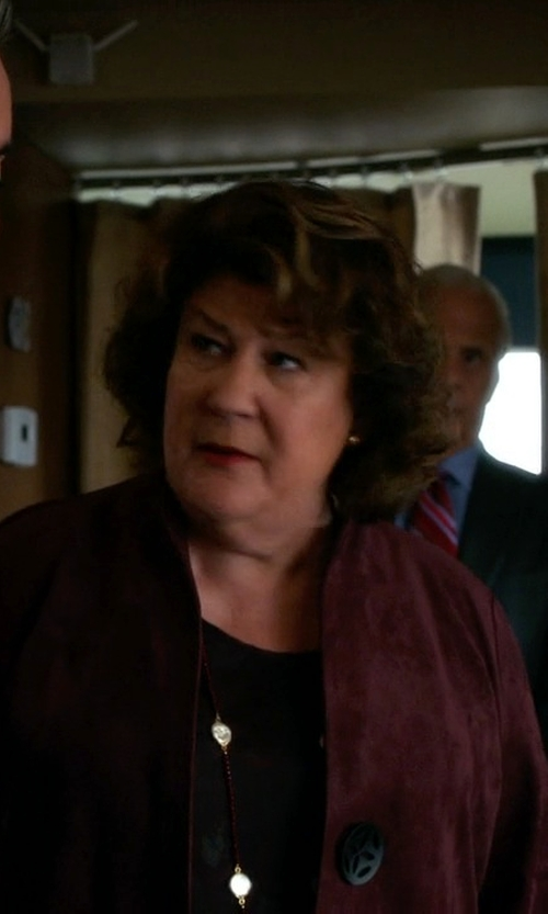 Margo Martindale with N_8 Wool Blazer in The Good Wife