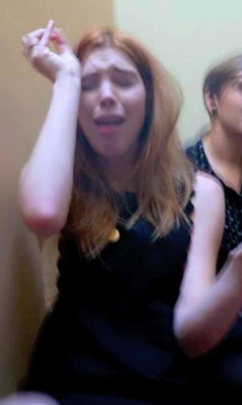 Courtney Halverson with Ya Vivian Dress in Unfriended
