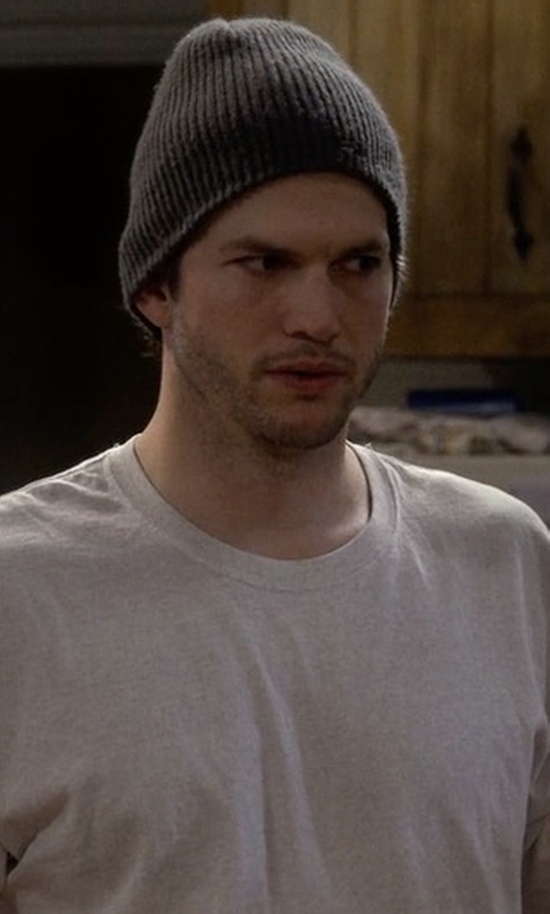 Ashton Kutcher with Naadam Ribbed Cashmere Beanie in The Ranch