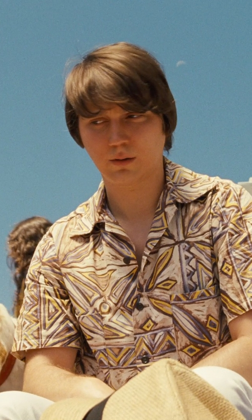 Paul Dano with Ralph Lauren Slim-Fit Spar Jeans in Love & Mercy