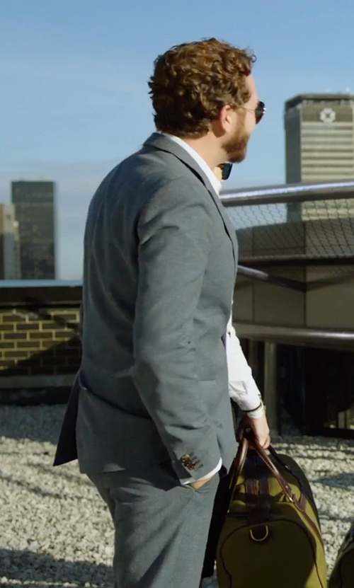 Danny Masterson with Tagliatore Formal Suit in Urge