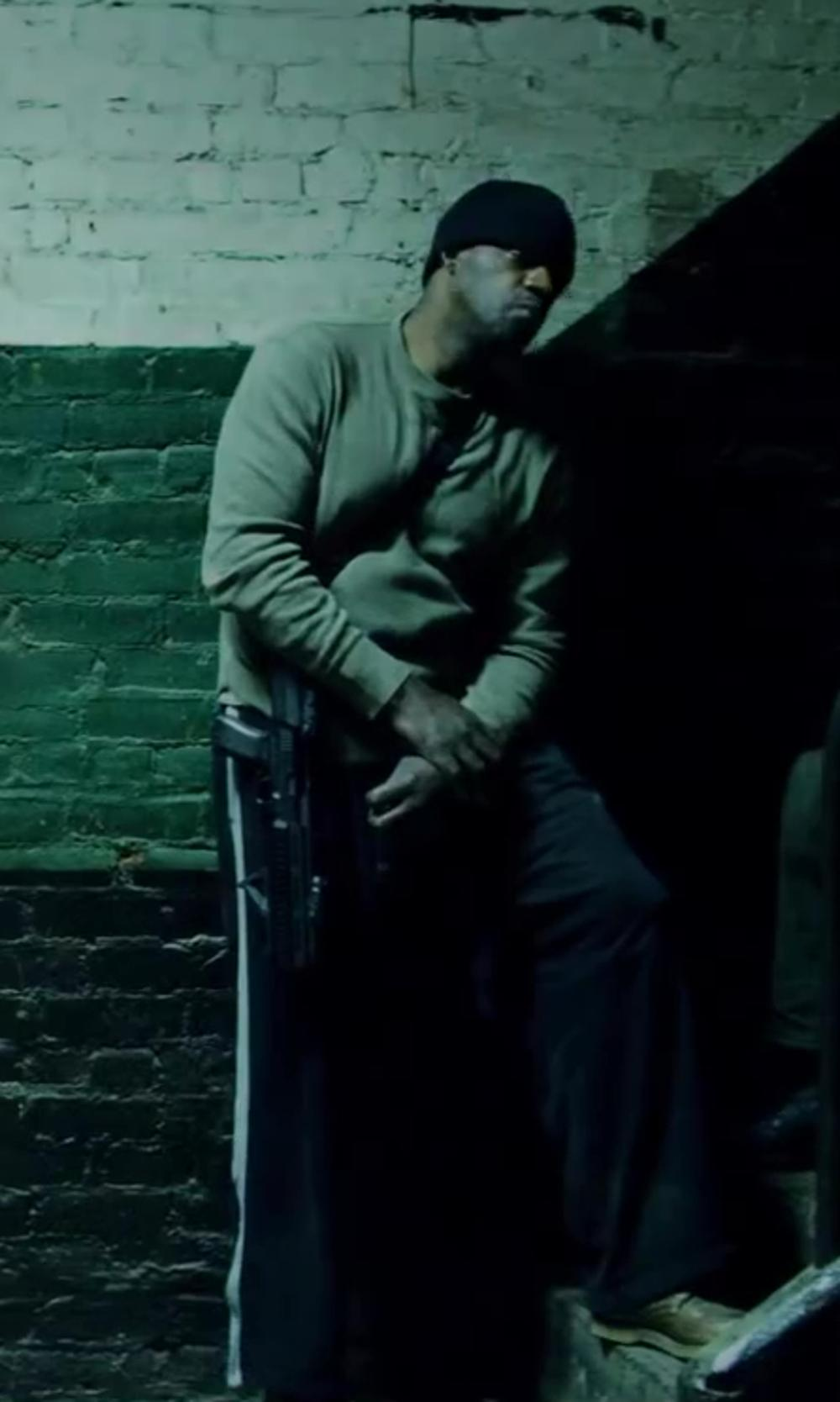 Unknown Actor with Land's End Men's Regular Athletic Pants in Brick Mansions