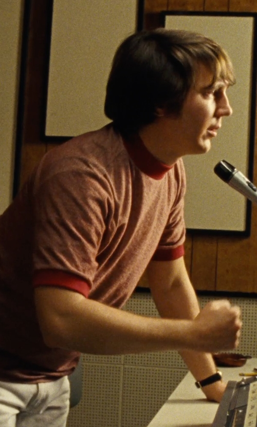 Paul Dano with AVI-8 Supermarine Seafire Analog Display Watch in Love & Mercy