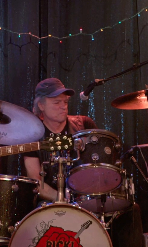 Joe Vitale with Yamaha Gigmaker Drum Set in Ricki and the Flash