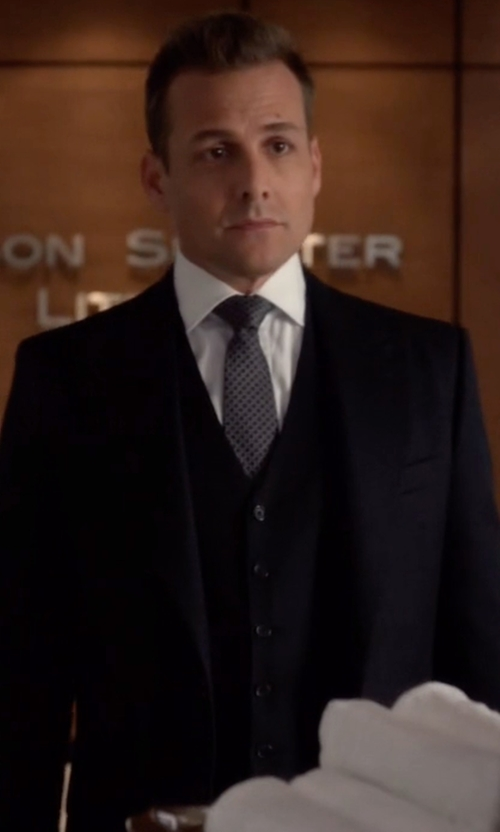 Gabriel Macht with Tom Ford O'Connor Base Prince Of Wales Suit in Suits