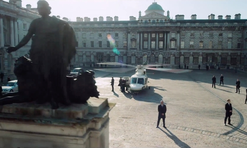Gerard Butler with Somerset House London, United Kingdom in London Has Fallen