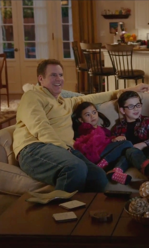 Will Ferrell with Tommy Bahama Relax Standard Straight Leg Jeans in Daddy's Home