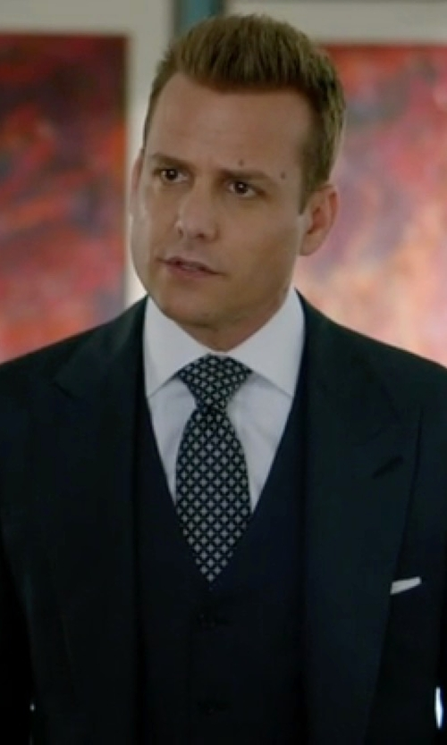 Gabriel Macht with Billy Reid Solid Oxford Sportshirt in Suits
