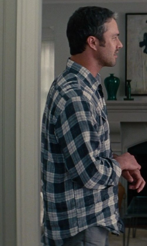 Taylor Kinney with A.P.C. Standard Chino Pants in The Other Woman