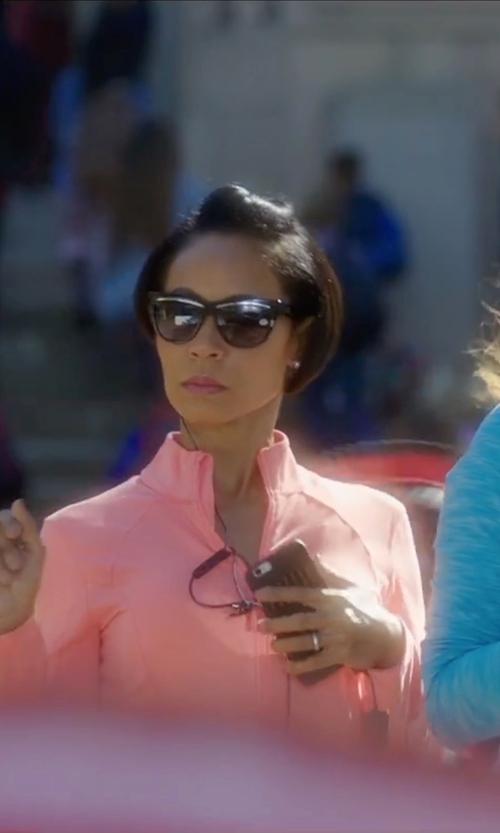 Jada Pinkett Smith with Barton Perreira  Modified Wayfarer Sunglasses in Bad Moms