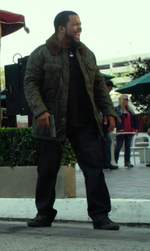 Ice Cube with Converse Chuck Taylor All Star Leather High Top Sneakers in Ride Along