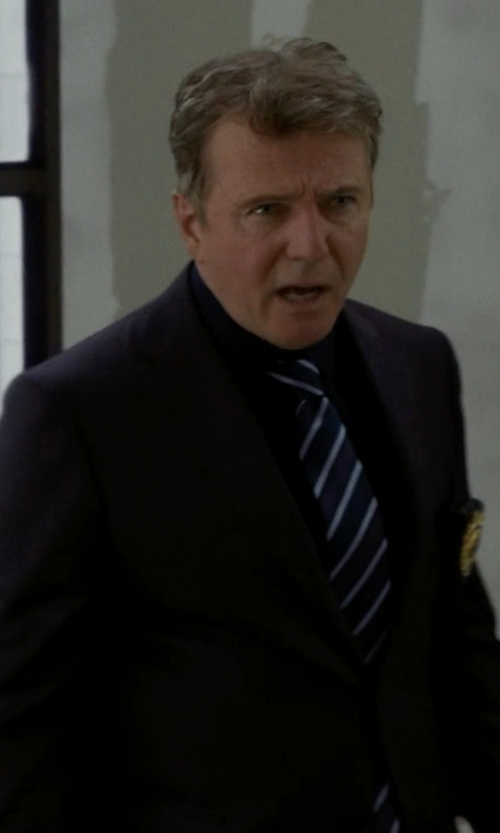 Aidan Quinn with Jos.A.Bank Wool Suit in Elementary