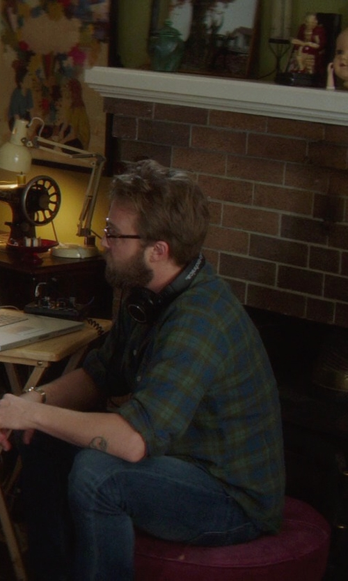 Joshua Leonard with Brian Dales Denim Pants in If I Stay