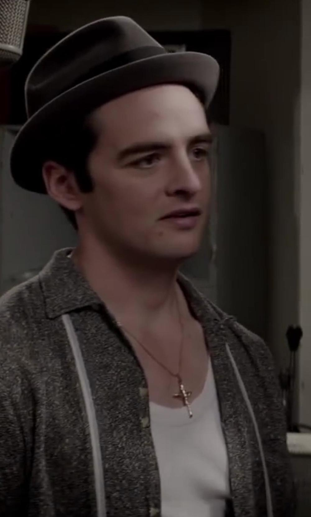 Vincent Piazza with Alternative Men's Perfect Tank in Jersey Boys