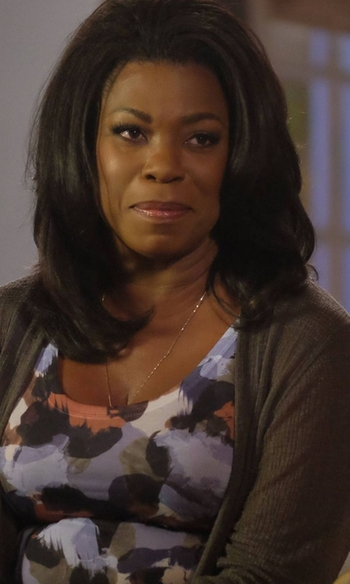 Lorraine Toussaint with Young, Fabulous & Broke Ferrah Top in Rosewood