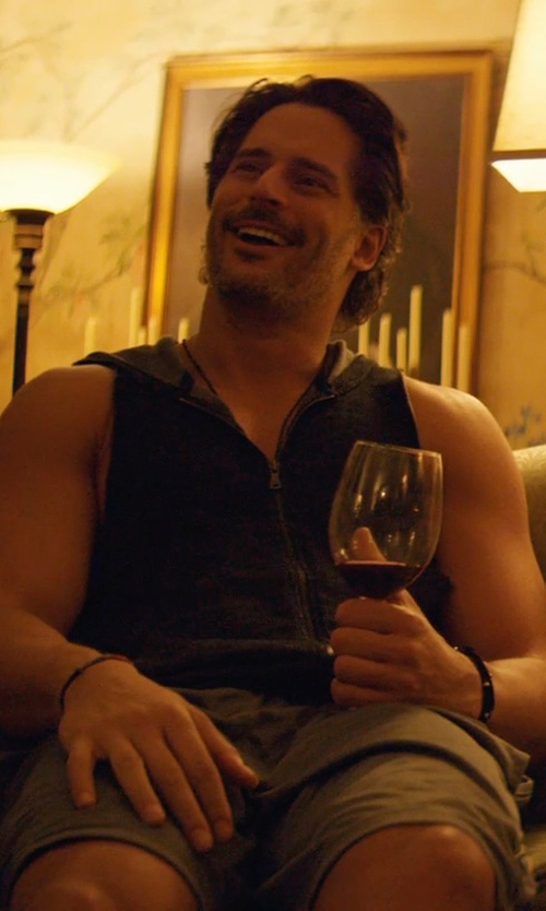 Joe Manganiello with Reiss Tailored Chino Shorts in Magic Mike XXL